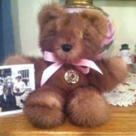 memory bear handmade