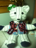 red sox jacket memory bear