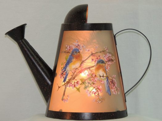 watering can small memory lamp