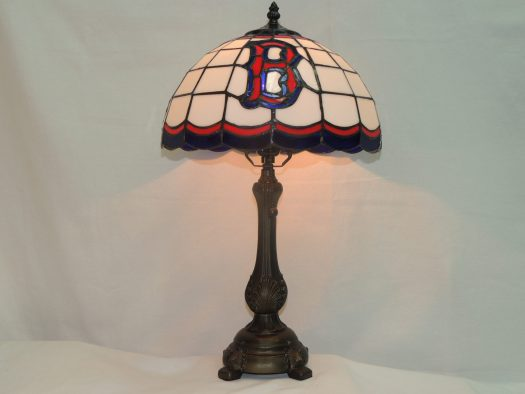 boston red sox table lamp