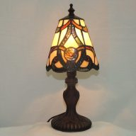brandi stained glass accent lamp