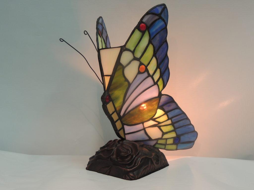 Butterfly Aqua Multi Color Memory Lamp Memory Lamps Of