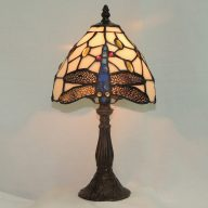dragonfly tiffany style memory lamp
