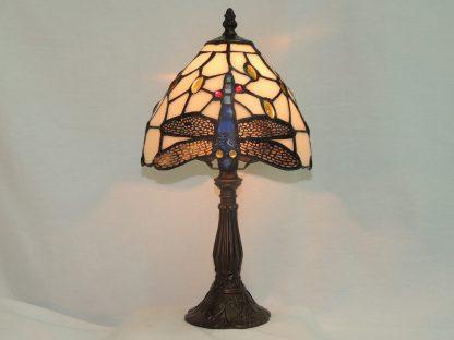 dragonfly tiffany style memory lamp
