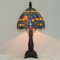 dragonfly hanginghead multi-color lamp