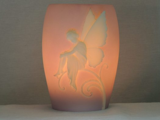 fairy cameo memory lamp