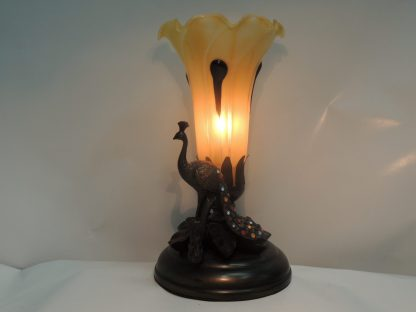peacock lily accent lamp