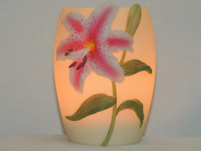 stargazer lily memory lamp