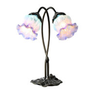 tulip lily accent lamp