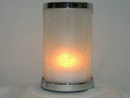 flickering flame battery powered accent lamp