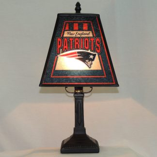 new england patriots etched glass memory lamp