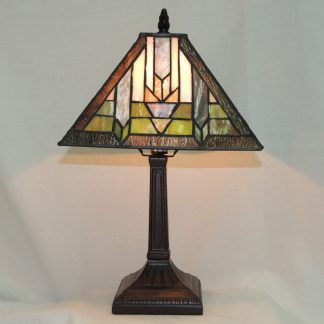 santa fe mission lamp with traditional colors for all occasions