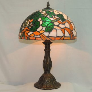 shamrock bouquet irsh tiffany style memory lamp