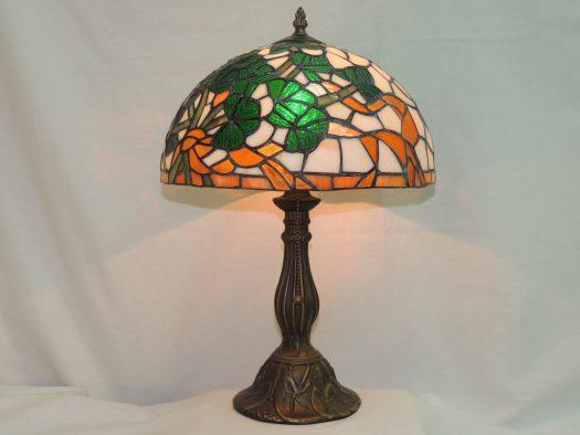 shamrock bouquet irsh tiffany style memory lamp