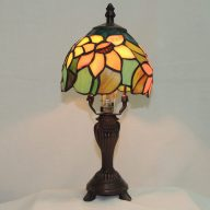 multi color sunflower mini accent lamp