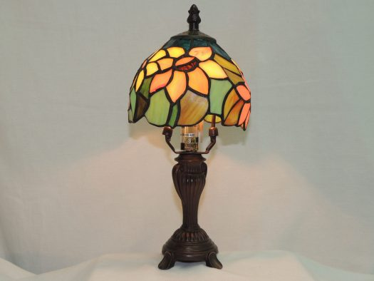 multi color sunflower mini accent lamp