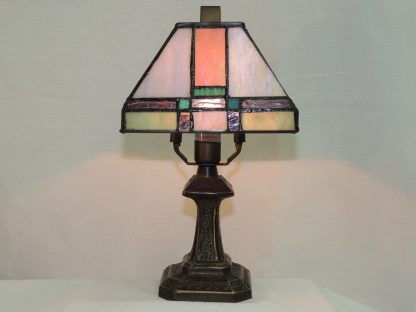 tranquility tiffany style mini accent lamp