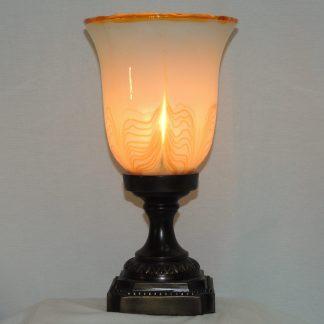 cream urn memory lamp