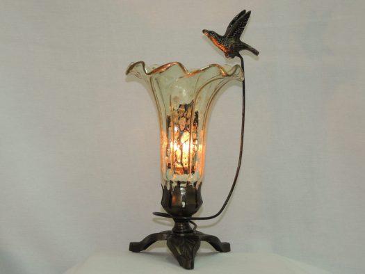 soaring hummingbird lily memory lamp