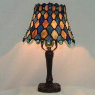 maile diamond cabochon memory lamp