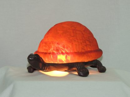 turtle memory lamp orange