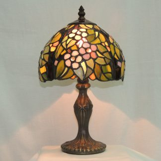 floral memory lamp tiffany style gift of light