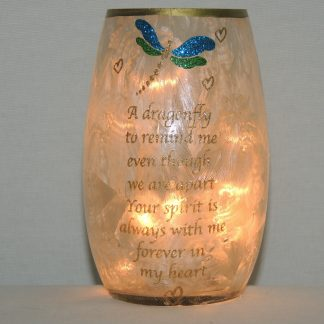 dragonfly accent night lamp
